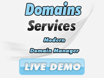 Economical domain name registration